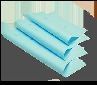 Pliegos de papel crepado PMG®