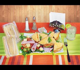 Tapas para alimentos preparados